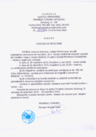 Concurs recrutare 25.10.2019