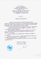 Concurs recrutare 01.11.2019